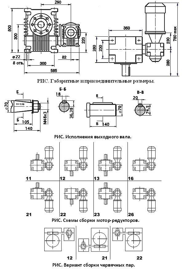 Мотор-редуктор МЧ2-160